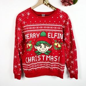 Sweaters - Merry Elfin' Christmas Sweater